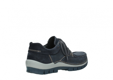 wolky veterschoenen 04750 fly men 11802 blauw geolied nubuck_4
