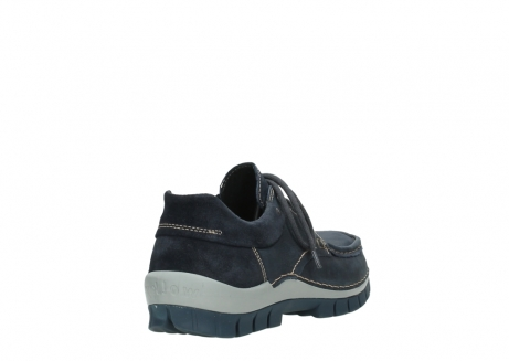 wolky veterschoenen 04750 fly men 11802 blauw geolied nubuck_5
