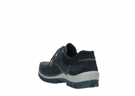 wolky veterschoenen 04750 fly men 11802 blauw geolied nubuck_9
