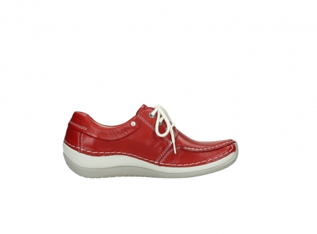 wolky chaussures a lacets 04800 coral 20570 cuir rouge_13