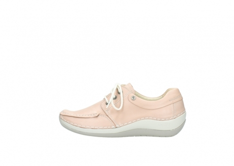 wolky lace up shoes 04800 coral 20620 old rose leather_1