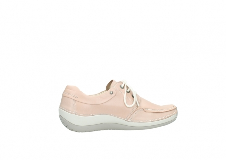 wolky lace up shoes 04800 coral 20620 old rose leather_12