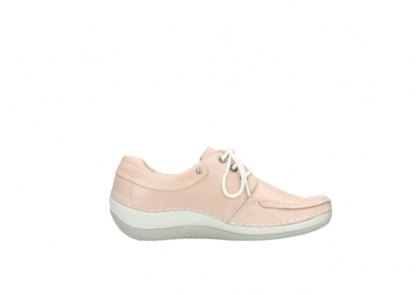 wolky lace up shoes 04800 coral 20620 old rose leather_13