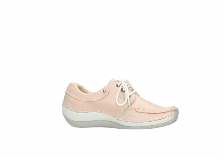 wolky lace up shoes 04800 coral 20620 old rose leather_14