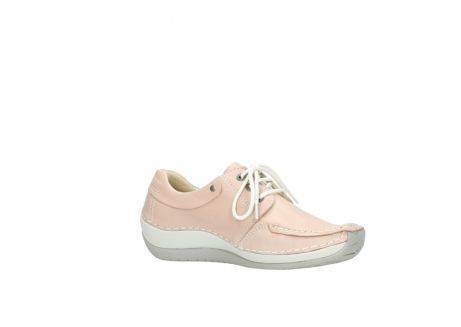 wolky lace up shoes 04800 coral 20620 old rose leather_15