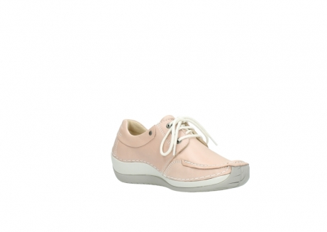 wolky lace up shoes 04800 coral 20620 old rose leather_16
