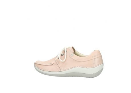 wolky lace up shoes 04800 coral 20620 old rose leather_2