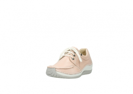 wolky lace up shoes 04800 coral 20620 old rose leather_21