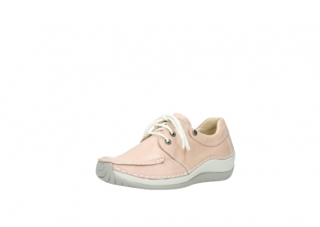 wolky lace up shoes 04800 coral 20620 old rose leather_22