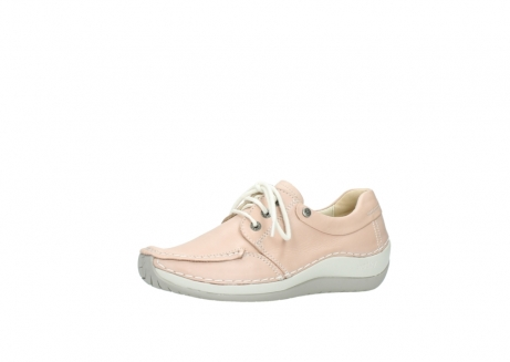 wolky lace up shoes 04800 coral 20620 old rose leather_23