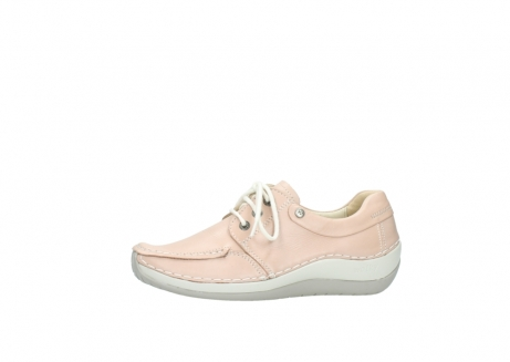 wolky lace up shoes 04800 coral 20620 old rose leather_24