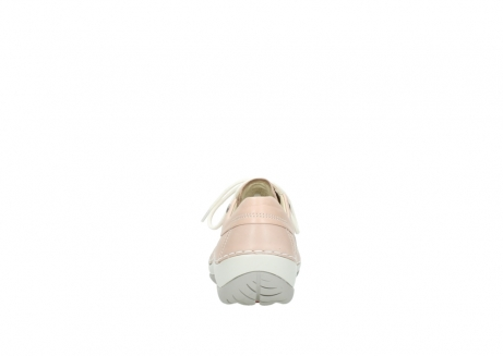 wolky lace up shoes 04800 coral 20620 old rose leather_7