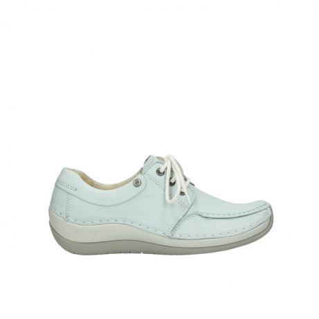wolky lace up shoes 04800 coral 20850 ice blue leather