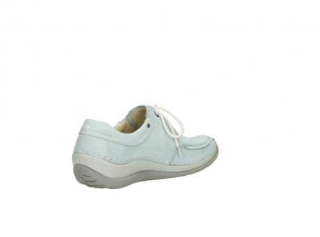 wolky lace up shoes 04800 coral 20850 ice blue leather_10