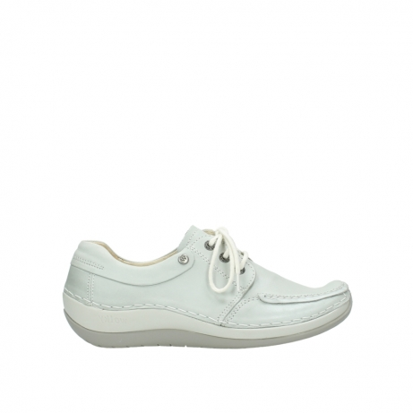 wolky chaussures a lacets 04800 coral 80120 cuir blanc