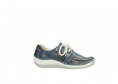 wolky lace up shoes 04800 coral 80870 blue leather_14
