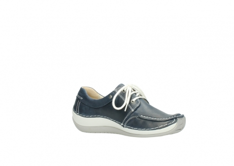 wolky lace up shoes 04800 coral 80870 blue leather_15