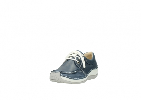 wolky lace up shoes 04800 coral 80870 blue leather_21