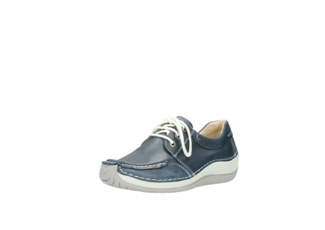 wolky lace up shoes 04800 coral 80870 blue leather_22