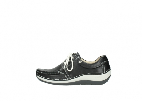 wolky chaussures a lacets 04805 azura 70070 nubuck noir_1