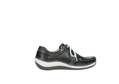 wolky chaussures a lacets 04805 azura 70070 nubuck noir_12