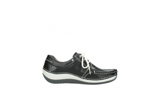 wolky chaussures a lacets 04805 azura 70070 nubuck noir_13