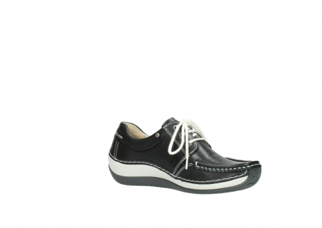 wolky chaussures a lacets 04805 azura 70070 nubuck noir_15