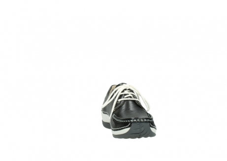 wolky chaussures a lacets 04805 azura 70070 nubuck noir_18