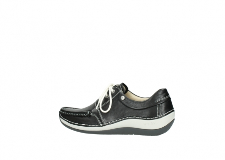 wolky chaussures a lacets 04805 azura 70070 nubuck noir_2