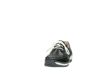 wolky lace up shoes 04805 azura 70070 black summer leather_20