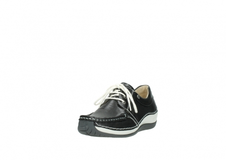 wolky chaussures a lacets 04805 azura 70070 nubuck noir_21