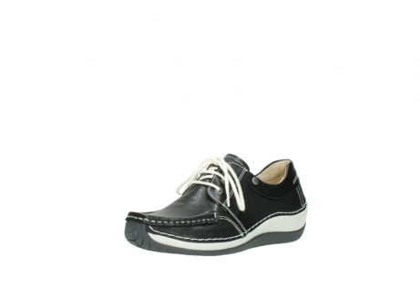wolky chaussures a lacets 04805 azura 70070 nubuck noir_22