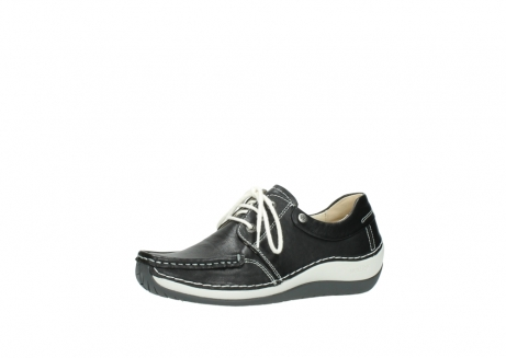 wolky chaussures a lacets 04805 azura 70070 nubuck noir_23