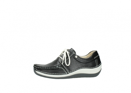 wolky chaussures a lacets 04805 azura 70070 nubuck noir_24