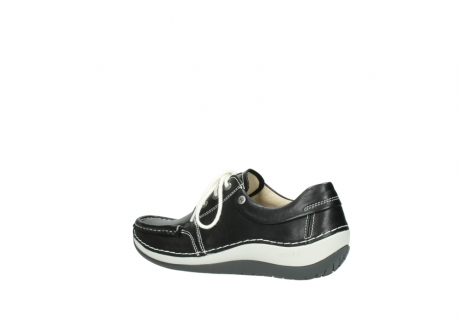 wolky lace up shoes 04805 azura 70070 black summer leather_3