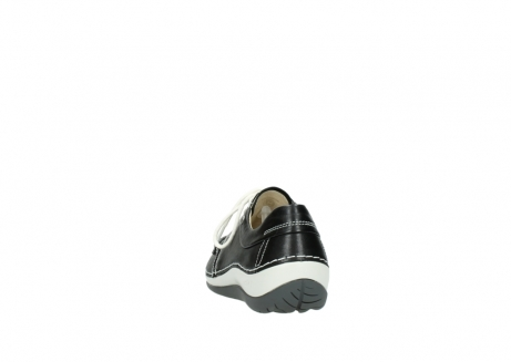 wolky chaussures a lacets 04805 azura 70070 nubuck noir_6