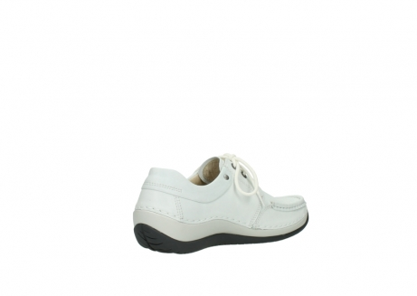 wolky chaussures a lacets 04805 azura 70100 cuir blanc_10