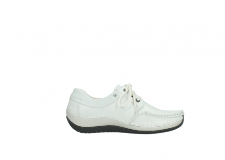 wolky chaussures a lacets 04805 azura 70100 cuir blanc_13