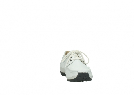 wolky chaussures a lacets 04805 azura 70100 cuir blanc_18