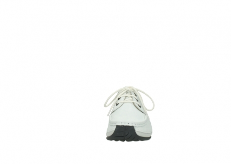 wolky chaussures a lacets 04805 azura 70100 cuir blanc_19