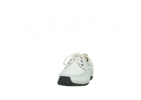wolky chaussures a lacets 04805 azura 70100 cuir blanc_20