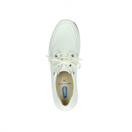 wolky chaussures a lacets 04805 azura 70100 cuir blanc_200
