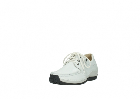 wolky chaussures a lacets 04805 azura 70100 cuir blanc_21