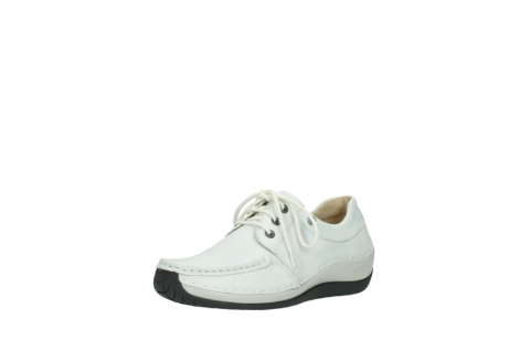 wolky chaussures a lacets 04805 azura 70100 cuir blanc_22