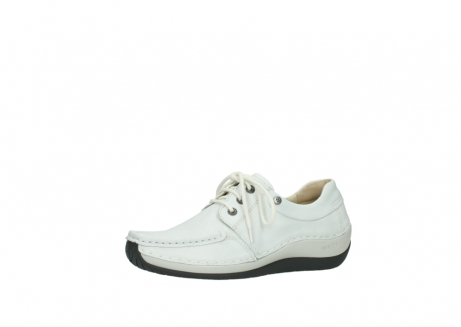 wolky chaussures a lacets 04805 azura 70100 cuir blanc_23