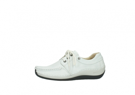 wolky chaussures a lacets 04805 azura 70100 cuir blanc_24