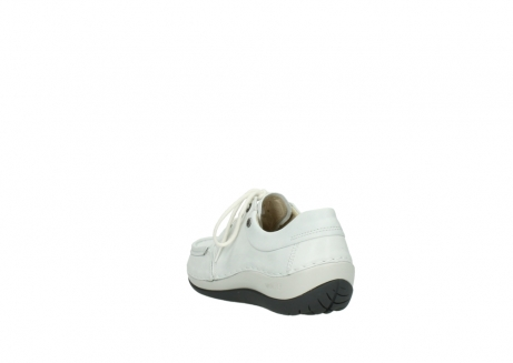 wolky chaussures a lacets 04805 azura 70100 cuir blanc_5