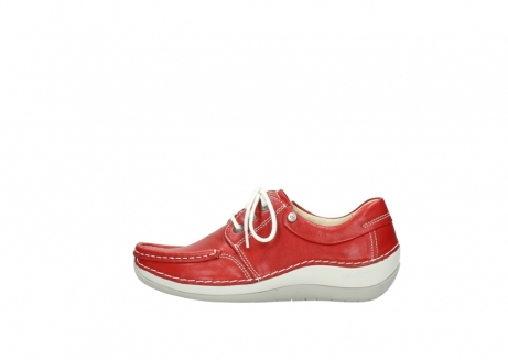 wolky lace up shoes 04805 azura 70570 red summer leather_1