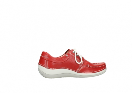 wolky lace up shoes 04805 azura 70570 red summer leather_12