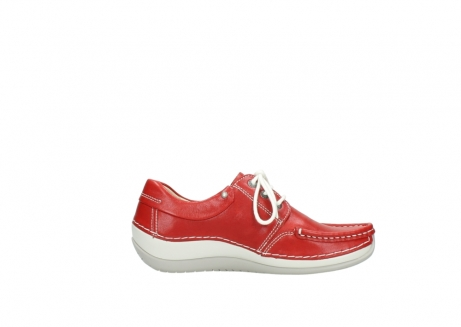 wolky lace up shoes 04805 azura 70570 red summer leather_13